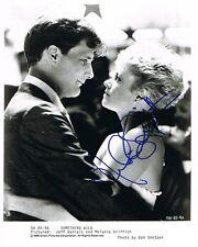 """Melanie Griffith """"Something Wild"""" Autogramm signed 20x25 cm Bild s/w"""