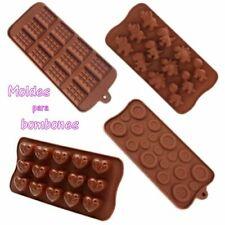 Molde Silicona para bombones fondant decoracion chocolate jabon cupcakes