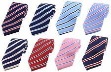 Classic Design Striped Silk Ties