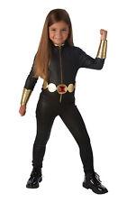 Black Widow Marvel Avengers Girl's Fancy Dress Costume