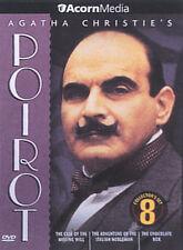 Agatha Christie's Poirot - Volume 8 (DVD, 2004) GREAT SHAPE
