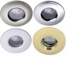 SALE IP65 CEILING SHOWER DOWNLIGHTS BATHROOM GU10 MAINS SPOTLIGHT  LED OPTION
