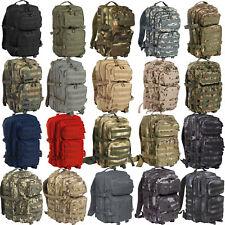 US Assault Pack Sac à dos large 40 L, à armée 22 Farben BW DAYPACK EN PLEIN AIR