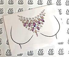 Body 3D Gems Jewel Stick On Rhinestones Glitter Party Festival Wedding Body Art
