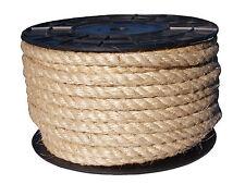 Braided Cord Natural 100% Sisal Rope Line Hemp Craft Twisted Twine  Cat Scratch