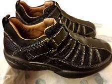 Dr. Comfort Genuine Leather Men's Shoes BEACH COMBER Black Multiple Sizes NIB