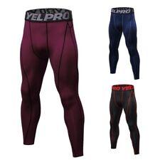 Pantaloni a compressione intima da uomo Quick Dry Sport Leggings Running Fitness