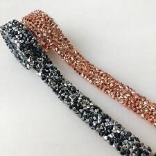 Wedding Cake Sparkly Decoration Bling Craft Rhinestone Mesh Diamante Wrap Ribbon