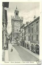 BRESCIA - CORSO GARIBALDI E TORRE DELLA PALLATA 1948