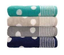 Dyckhoff Frottierserie Dots Punkte Handtuch Duschtuch in 4 Farben
