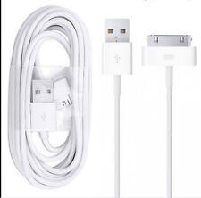 2 X Cable de carga USB de datos de 30 Pines conducir a cargo de sincronización iPhone iPad iPod Serie