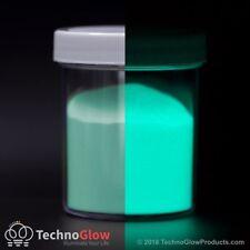 Glow in the Dark Powder, FLUORESCENT AQUA - UV Reactive Glow Pigment