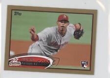 2012 Topps Mini Gold #604 Juan Abreu Houston Astros Rookie Baseball Card