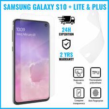 Screen Protector LCD PET Protecteur Foil Film Samsung Galaxy S10 + Lite & Plus