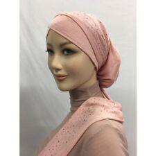 ISLAM-ABAYA- Kopftuch-Hijab Turban Hijab Bonnet Turban Strass