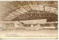 CARTE POSTALE AVIATION / CAMP DE VALDAHON PARC D'AVIATION HANGAR BESSONNEAU