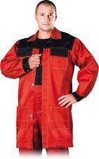 Arbeitskittel Kittel Arbeitskleidung Berufsmantel Schutzschürze Gr L-XXXL NEU
