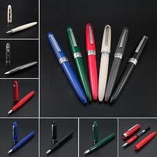 Jinhao 992 Plastic Opaque China Fountain Pen Screw Fine Nib 0.5mm Writing Gift#Y