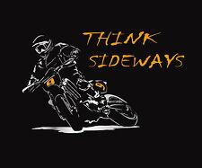 Supermoto T Shirt Motard 450 KTM 125 250 Hypermoto Drift Sideways + Langarm