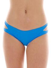 Brunotti Bikini Bottoms Swimwear Badeunterteil Blau Classic Cut Patch
