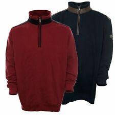 Kitaro Sweatshirt Sweat Troyer Zip Herren Langarm Baumwolle Maritime Classics