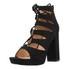 Sandalias Mujer LA STRADA 905842, Color Negro