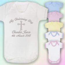 Mi Día Bautizo Regalo Chaleco de bebé bordados personalizados