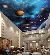 Unique Gross Star 3D Ceiling Mural Full Wall Photo Wallpaper Print Home Decor