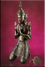 Figur Thailand Feng Shui Meditation Thai Buddha Statue Dekofigur Kunstharz