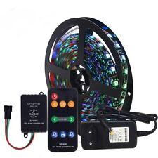Dream color WS2811 LED Strip 5050 RGB 5M+ SP106E Music controller+DC12V power