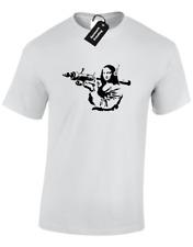 MONA LISA Banksy Homme T shirt graffiti street art Urban Tumblr Design S - 5XL