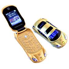 Flip Phone Dual Sim 1.8'' Screen Luxury Car New Original Newmind Mini Led Light