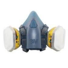 SALE 3M 7500 Series Half Mask Reusable Organic Respirator / Dust & Gas Mask
