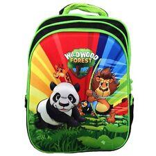 "3D Panda Lion Giraffe Animal 16"" Childrens Kids School Backpack Travelling Bag"