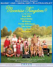 Moonrise Kingdom (Blu-ray, 2012) Bruce Willis, Bill Murray, Frances Mcdormand