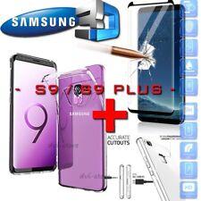 COVER CUSTODIA + PELLICOLA VETRO TEMPERATO 3D CURVO per SAMSUNG S9 / S9 PLUS