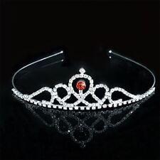 Princess Crystal Tiaras Crowns Headband Girls Accessories Hair Jewelry