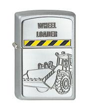 Zippo Wheelloader Radlader Bau auf Wunsch mit persönlicher Gravur 2001299 Neu