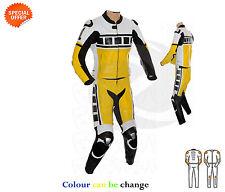 noir et jaune Combinaison de Moto KENNY ROBERT style Superbikes vêtements