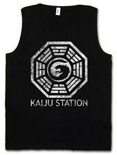 VINTAGE KAIJU STATION TANK TOP VEST - Pacific Mech Monster Rim Godzilla Monster