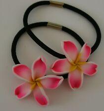 Hawaii Flower Haargummi  2 Stück  Hawaii fürs Haar  verschiedene Farben