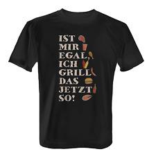 Ich grill das jetzt so Herren T-Shirt Fun Shirt Grillen Geschenk Idee Vintage