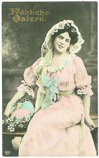 Pasqua, DAMA, Foto AK, 1910