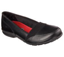 76579 Skechers Women's BURAS Work Shoes Slip Resistant Black