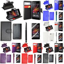 Etui Support Video Rabat Sony Xperia Z1 L39H/ Z1 Honami/ C6902 C6903 C6906 C6943