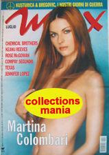 Max-'99-MARTINA COLOMBARI,Josh Hartnett,Keanu Reeves,Sharleen Spiteri,Rettondini