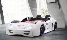 GT999 SLR Race Car Bed, Children's Car Bed, Kids Beds, Boys Car Bed - White
