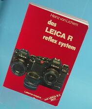 Das Leica R Reflex System Buch Leica R3 MOT Heinz von Lichem book livre - 11996