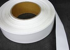66mm x 8mil White Layflat Heat Shrink PVC - 5ft, 10ft, 25ft - PVC Battery Wrap