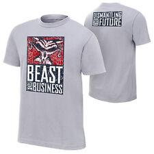"Officiel wwe brock lesnar ""bête for business"" authentique t-shirt"